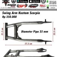 harga Swing arm custom scorpio double shock Tokopedia.com
