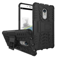 Casing Rugged Armor Xiaomi Redmi Note 4 Hard Soft Case Cover Kickstand