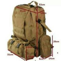 TAS RANSEL ARMY MILITER TENTARA GUNUNG OUTDOOR 24 IMPORT