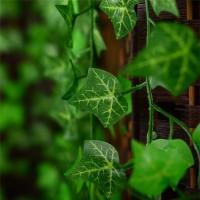 Daun Plastik Rambat Tanaman Ivy Garland Artificial Fake Leaf