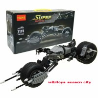 lego super hero motor batman batpod decool 7115