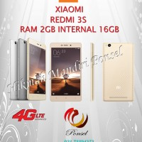 XIAOMI RED MI 3S GOLD RAM 2GB INTERNAL 16GB GRS DISTRI