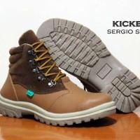 harga Sepatu Pria Kickers Sergio Boots Safety Made In France Asli Import Tokopedia.com