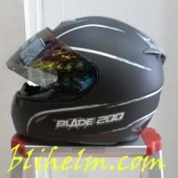 harga Helm Bmc Blade 200 Line Black Doff/silver Tokopedia.com