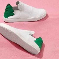 Sepatu Pria Adidas Elastic White Premium Kets Casual Sneakers Kuliah