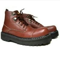 harga Sepatu Pria Black Master New Underground Coklat Boots Kulit Touring Tokopedia.com