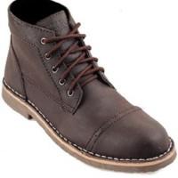 Sepatu Pria Black Master Zara Brown Boots Kulit Asli Tracking Touring