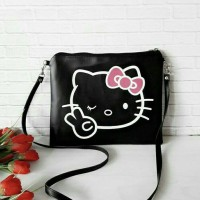 Jual Tas Wanita Slingbag Hello Kitty Murah Sling Bag Cartoon Lucu 3D Murah