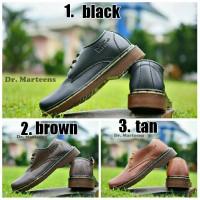 Big sale!! Sepatu formal pria Dr. Martin low boot (3 model war