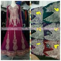 harga Real pict !!! Na 422   Baju gamis pesta india-baju india-ori-muslim Tokopedia.com