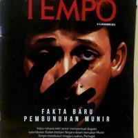 Majalah Tempo Edisi Khusus : Fakta Baru Pembunuhan Munir