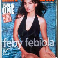 Majalah Popular Oktober 2003 : Feby Febiola