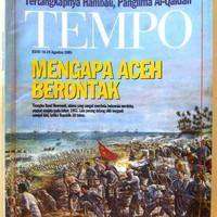 Tempo Edisi Khusus : Mengapa Aceh Berontak/Snouck Hurgronje