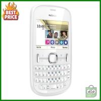 Nokia Asha 201 Putih - HP Jadul Murah - Nokia Jadul Paling Dicari