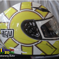 Helm AGV K3 Gothic White Yellow