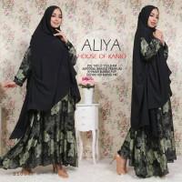 busana muslim syari/bajumurah/gamis cantik/aliya dress