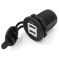 charger usb motor - Motorcycle USB Charger 2 Port promo