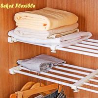 Sekat Lemari Size 56-92 cm Fleksible flexible sekat rak baju