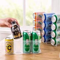 Rak Minuman Botol Kaleng Kulkas Organizer Kitchen Storage Box Holder