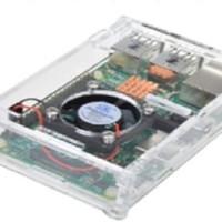 casing Raspberry pi 3 model B Case with Fan cooling kipas pendingin