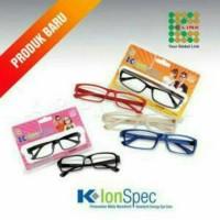 K-Link K-IONSPEC /Kaca mata kesehatan