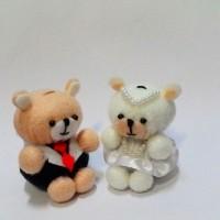 (NEW) Boneka Beruang mini - souvenir Kado pacar - Hadiah