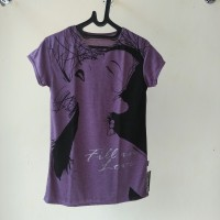 (NEW) Kaos wanita - UNGU cute girl - pakaian wanita murah -