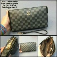 handbag tas tangan pria/wanita LOUIS VUITTON DAMIER BLACK
