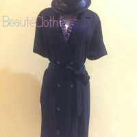 Long Three Quarter Dress