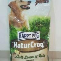 Makanan anjing naturcroq lamn n reis