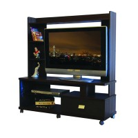 Gold Lemari TV Hias