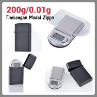 harga Timbangan Digital Saku Mini Unik Perhiasan Model Zippo 200g/0.01g Tokopedia.com