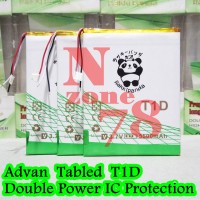 Baterai Advan TABLET T1D Rakkipanda Double Power Protection