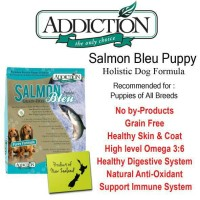 ADDICTION SALMON BLEU PUPPY 1,8KG DOG FOOD MAKANAN ANJING DRY FOOD