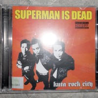SUPERMAN IS DEAD Kuta Rock City CD ALBUM ORIGINAL (SEALED 100%)