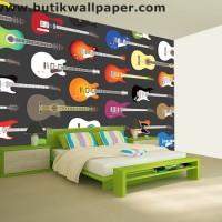 Wallpaper Dinding Custom dan Poster Musik #6 gitar listrik