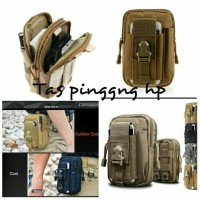 Tas Bag Pinggang Army Sport Kuat HP Gadget Gunung Lari Olahraga Travel