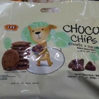 Lee choco chips biscuits biskuit dengan coklat chip 260gr