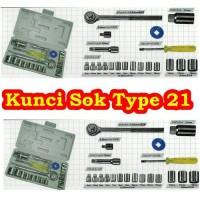 Kunci Shock set 21Pcs