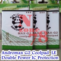 BATERAI ANDROMAX G2 COOLPAD LIMITED EDITION RAKKIPANDA DOUBLE POWER