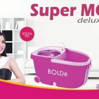 NEW SUPERMOP DELUXE kualitas diatas easy magic pongs livina spin mop