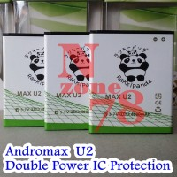 BATTERY ANDROMAX U2 SMARTFREN DOUBLE POWER PROTECTION