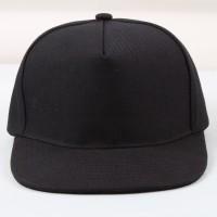 topi snapback hitam polos tanpa sambungan depan