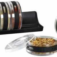 Cylindra Spice Rack | Rak Bumbu Bulat | Tempat Bumbu 6 in 1