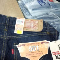 harga Di Obral Celana Levis 501 Original Garmen Black Tokopedia.com