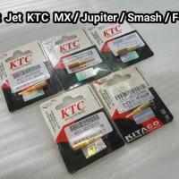 Pilot Jet KTC MX/ Jupiter/ Smash/ F-150 Lama Size: 15 ~ 40