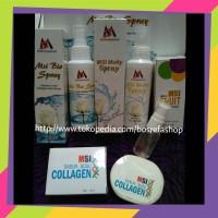 PAKET MSI BIOSPRAY+MSI COLLAGEN SPRAY+FRUIT SERUM+COLLAGEN SOAP