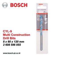 Harga cyl 9 mata bor multi konstruksi bosch 8mm 2 608 596 | Pembandingharga.com