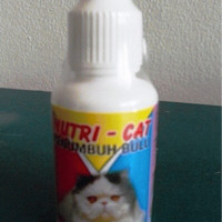 vitamin obat penumbuh bulu kucing nutricat nutri cat nutri-cat