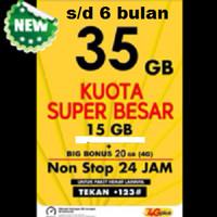 harga Kartu Perdana Internet Indosat 35 GB Tokopedia.com